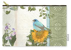 Les Magnifiques Fleurs Iv - Secret Garden Carry-all Pouch by Audrey Jeanne Roberts