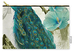 Les Paons Carry-all Pouch