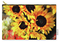 Les Tournesols Carry-all Pouch