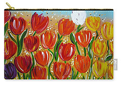 Les Tulipes - The Tulips Carry-all Pouch