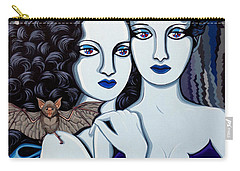 Les Vamperes Bleu Carry-all Pouch