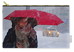 L Esprit De New York - Winter In New York Carry-all Pouch