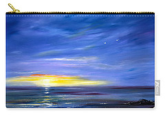 Less Drama - Blue Sunset Carry-all Pouch