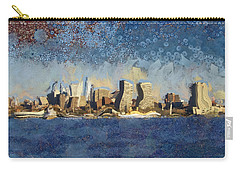 Less Wacky Philly Skyline Carry-all Pouch by Trish Tritz