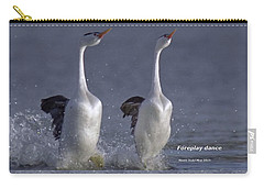 Let Humans Learn From The Nature  Foreplay Dance It Pleases Everyone Carry-all Pouch by Navin Joshi