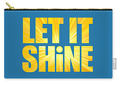 Let It Shine Sun Carry-all Pouch
