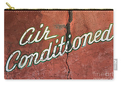 Let The Cool Air In Carry-all Pouch by Phyllis Webster