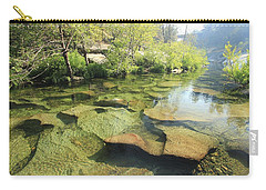 Carry-all Pouch featuring the photograph Let The Light Consume You by Sean Sarsfield