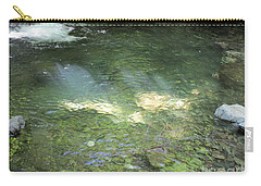 Carry-all Pouch featuring the photograph Let The Sunshine by Marie Neder