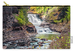 Letchworth Lower Falls In Autumn Carry-all Pouch