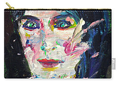 Carry-all Pouch featuring the painting Let's Feel Alive by Fabrizio Cassetta