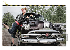 Carry-all Pouch featuring the photograph Let's Go by Brad Allen Fine Art