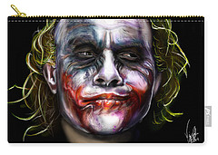 Let's Put A Smile On That Face Carry-all Pouch by Vinny John Usuriello
