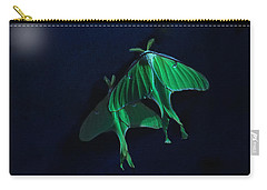 Carry-all Pouch featuring the photograph Let's Swim To The Moon by Susan Capuano