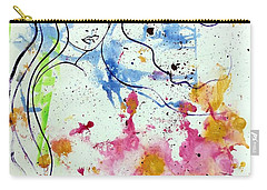 Letting Go Carry-all Pouch by Julie Hoyle