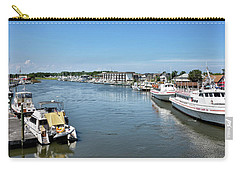 Carry-all Pouch featuring the photograph Lewes Delaware by Brendan Reals