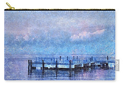 Lewes Pier Carry-all Pouch by Trish Tritz