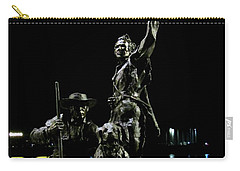 Lewis And Clark Arrive At Laclede's Landing Carry-all Pouch