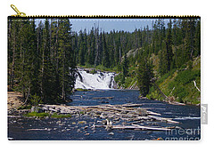 Lewis Falls Yellowstone Carry-all Pouch