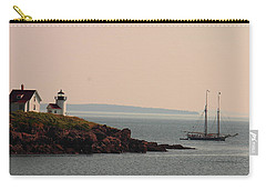 Lewis R French At The Curtis Island Lighthouse Carry-all Pouch