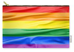 Lgbt Rainbow Flag Carry-all Pouch