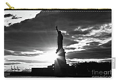 Carry-all Pouch featuring the photograph Liberty by Ana V Ramirez