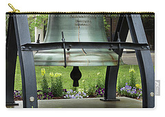 Carry-all Pouch featuring the photograph Liberty Bell Replica by Mike Eingle