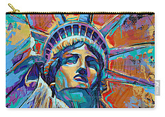 Liberty In Color Carry-all Pouch by Damon Gray