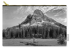 Carry-all Pouch featuring the photograph Liberty Mountain At Sunset by Jon Glaser