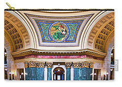 Liberty Mural - Capitol - Madison - Wisconsin Carry-all Pouch