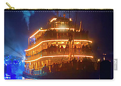 Carry-all Pouch featuring the photograph Liberty Square Riverboat by Mark Andrew Thomas
