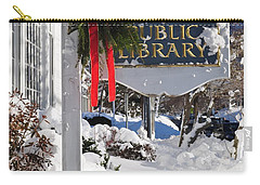 Library After Snow Carry-all Pouch