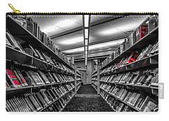 Library Books Carry-all Pouch