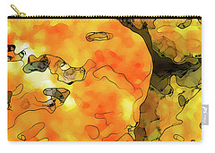 Lichen Abstract Carry-all Pouch