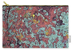 Lichen Colors Carry-all Pouch by Todd Breitling