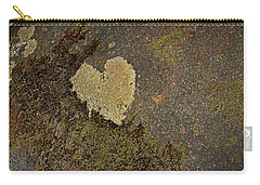 Carry-all Pouch featuring the photograph Lichen Love by Mike Eingle