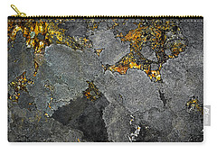 Lichen On Granite Rock Abstract Carry-all Pouch