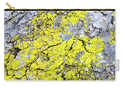 Carry-all Pouch featuring the photograph Lichen Pattern by Christina Rollo