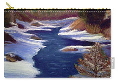 Licia's Painting Gratitude Carry-all Pouch