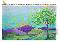 Love And Life Carry-all Pouch by Tanielle Childers