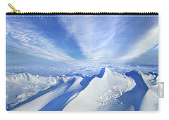 Carry-all Pouch featuring the photograph Life Below Zero by Phil Koch