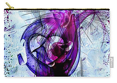 Carry-all Pouch featuring the digital art Life By Nico Bielow by Nico Bielow