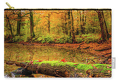 Carry-all Pouch featuring the photograph Life Cycle by Dmytro Korol