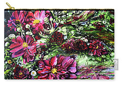 Life In A Bloom Field Carry-all Pouch