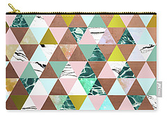 Life In A Pattern Carry-all Pouch by Uma Gokhale