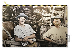 Carry-all Pouch featuring the photograph Life In Australia 1901 To 1914 by Miroslava Jurcik