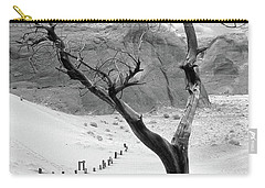 Carry-all Pouch featuring the photograph Life In The Desert -  Arizona by Mike McGlothlen