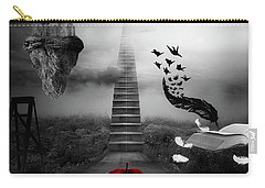 Carry-all Pouch featuring the digital art Life Is A Stage by Mo T