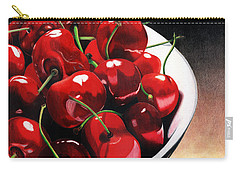 Carry-all Pouch featuring the painting Life Is.... by Angela Armano