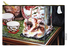Carry-all Pouch featuring the painting Life Is Beautiful by Hiroko Sakai